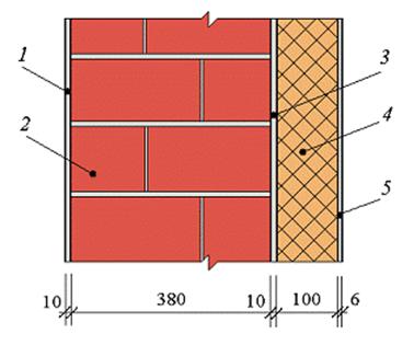 Расчетная схема конструкции 2