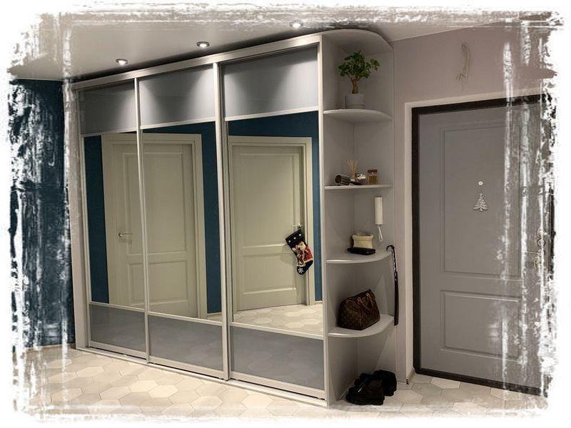 Шкафы-купе для нестандартных размеров комнат - Дизайн интерьера ... | 600x800