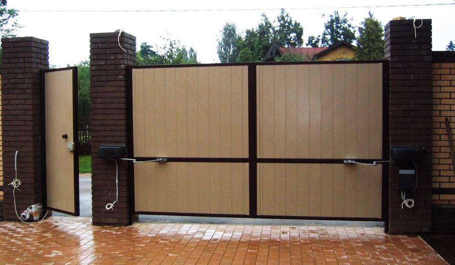 Распашные ворота производство екатеринбург roger автоматические ворота