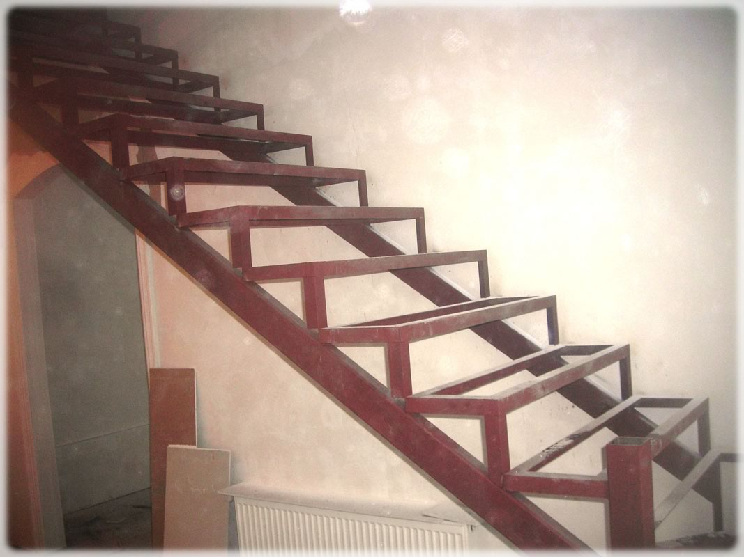 Металлические лестницы своими руками фото