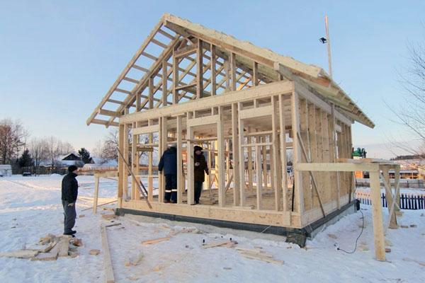 Как построить каркасный дом своими руками недорого фото