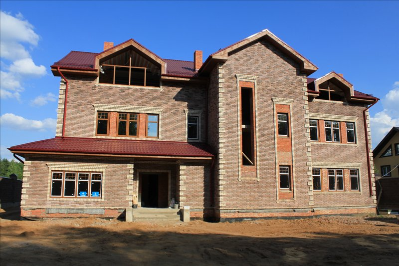 Строительство кирпичных, газосиликатных домов, бань; внутренняя и внешняя отделка строений: шпаклевка, штукатурка