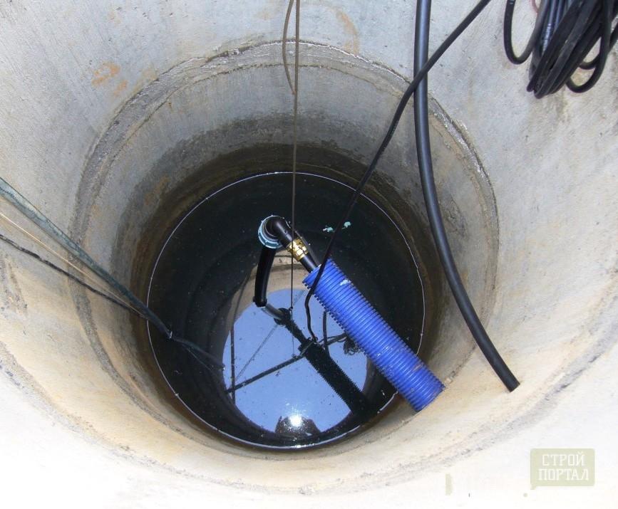 Колодец водопровода своими руками 11
