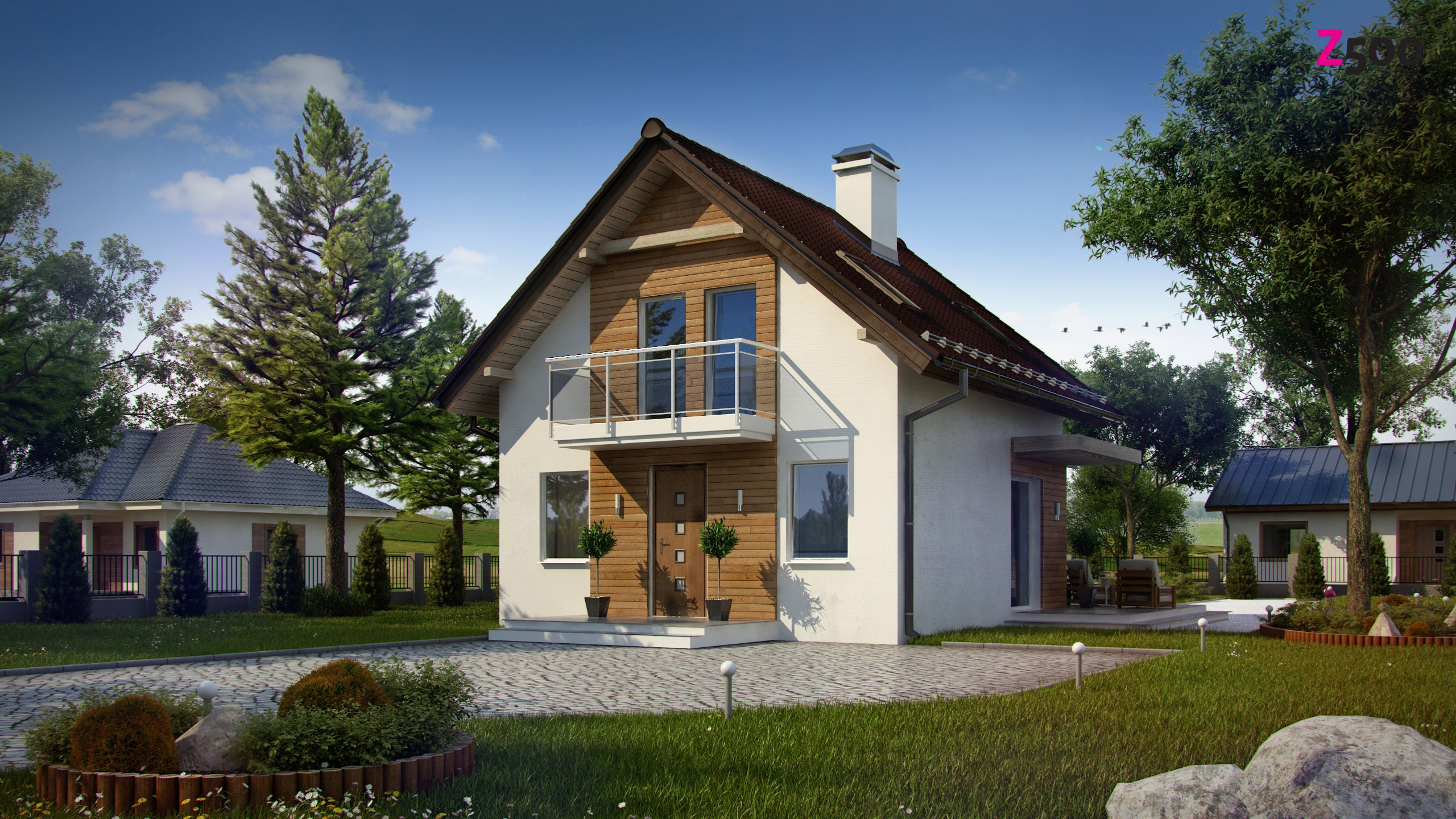 """Проект дома """"сип-казань 024"""". площадь 109 м2."""