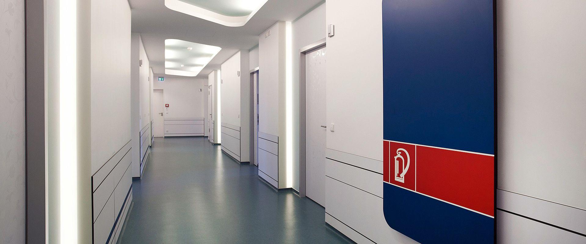 отделочные материалы для медицинских учереждений того
