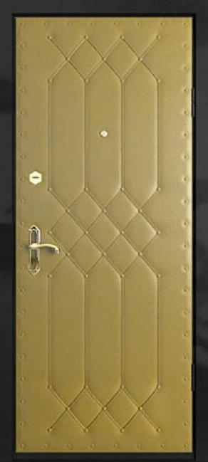 входные металлические двери отделка дермантин
