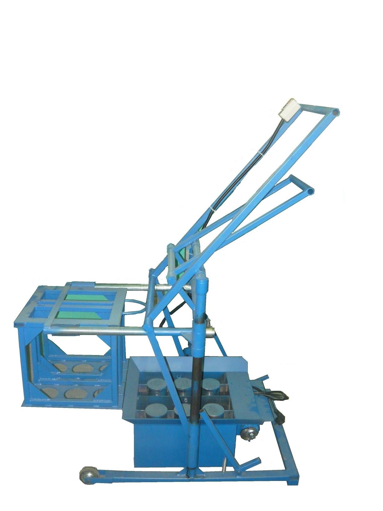Производство пескоблоков как бизнес: оборудование, станок 2