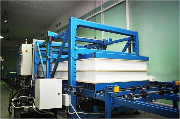 Производство sip панелей