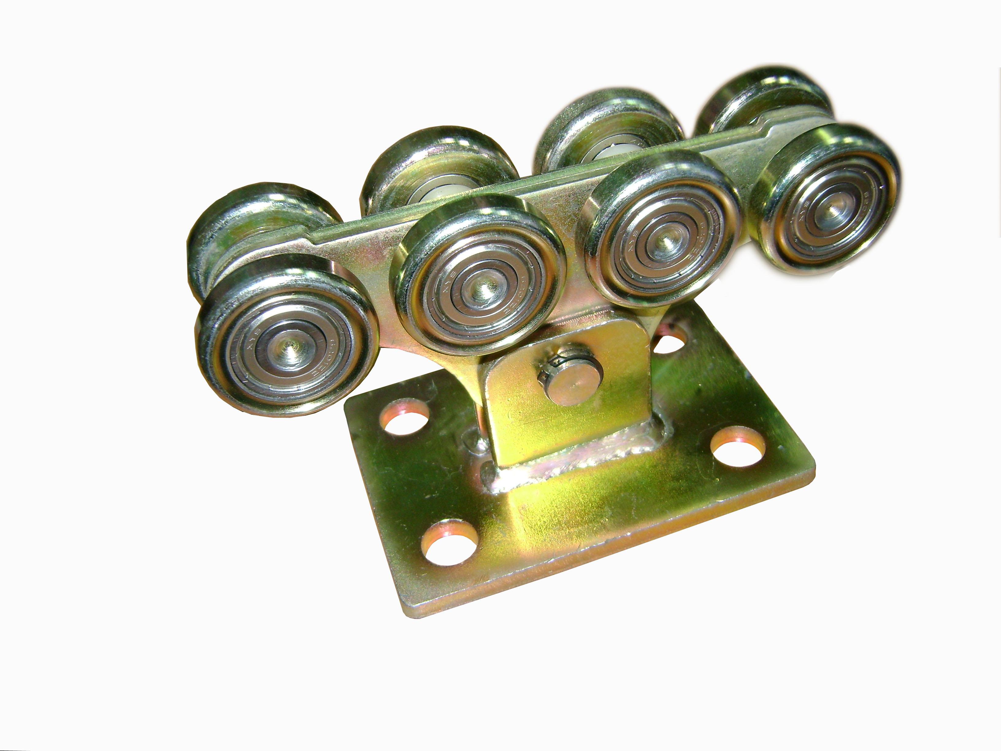 Комплект роликов для откатных ворот своими руками