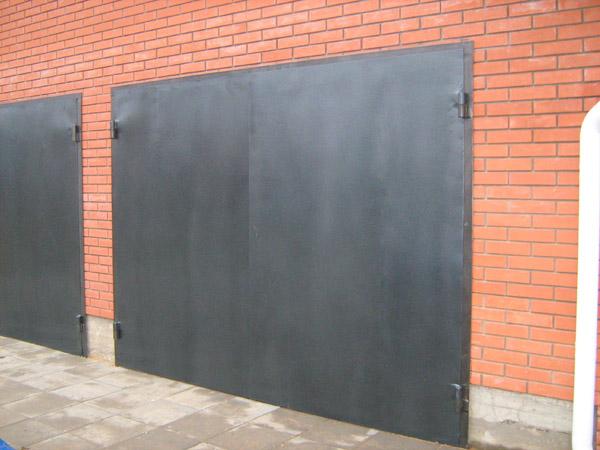 Сварить ворота для гаража