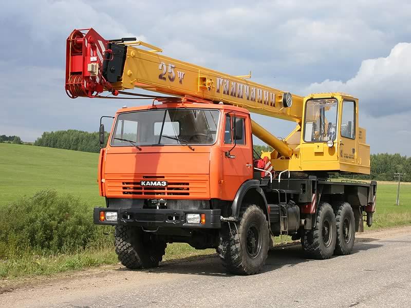 Автокран КамАЗ 32 тонны КС557291В Галичанин