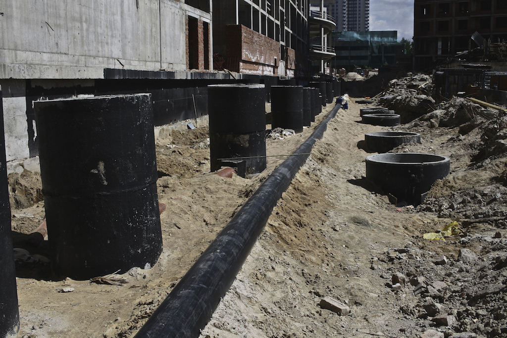 Монтаж водопровода (наружные сети НВК)