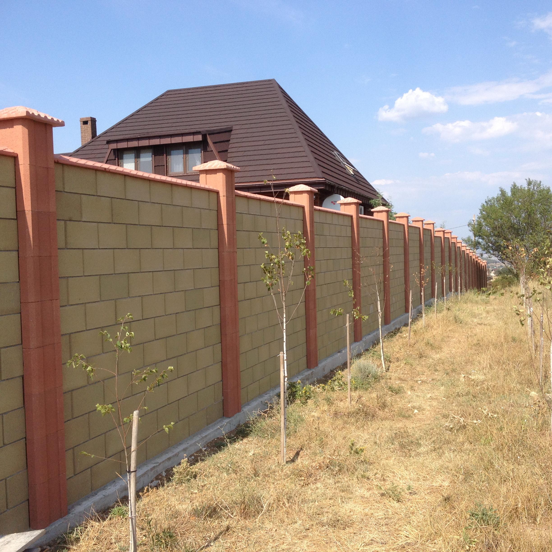 Как построить забор из француза своими руками 2