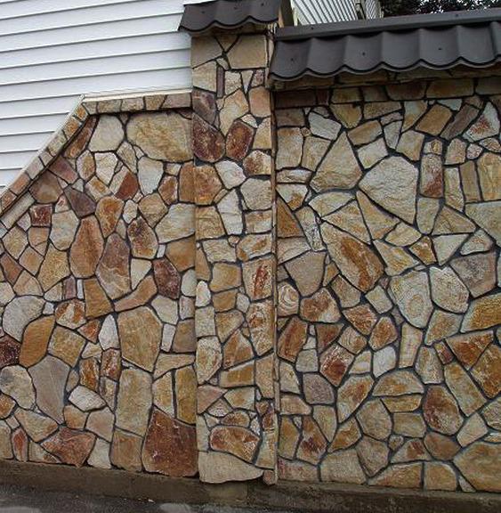 Фасады из камня фото