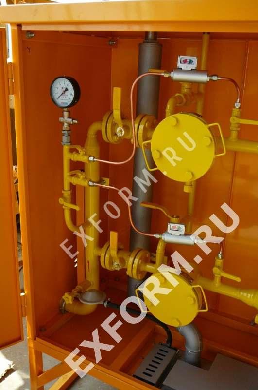 пункт газорегуляторный шкафного типа ГРПШ