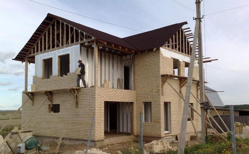 Дома построенные своими руками фотоотчеты