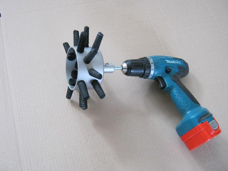 Механическая насадка ощипывания пера своими руками