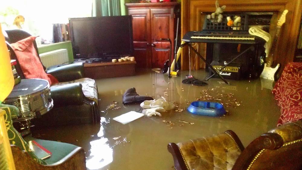 просушка помещений после затопления