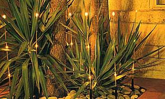 освещение в зимнем саду