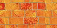 Керамос - смальта - мозаичные элементы кирпичиками