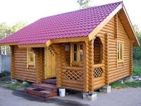 Деревянные дома.