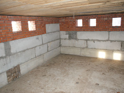 Эффективное использование помещения цокольного этажа