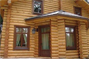 Окна и двери деревянного дома