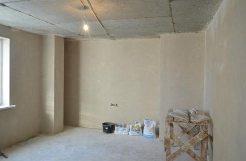 Машинная штукатурка стен: преимущества