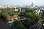 Но можно ли увидеть сад на крыше этого дома и на каких условиях.
