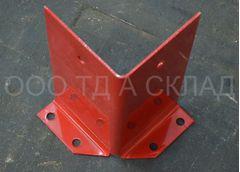 Защита стойки стеллажа угловая П 90, П 120, P 100, 120