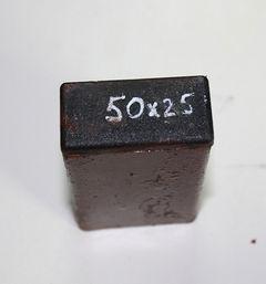 Заглушка внутренняя для профильной трубы 50x25 мм.
