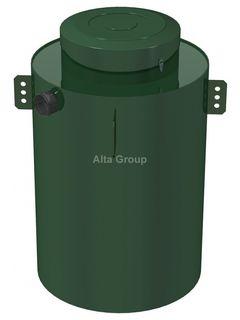 Промышленный жироуловитель Alta M-OR 3.6-240 (круглый)